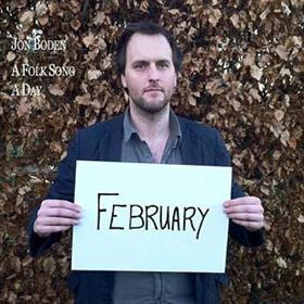 Jon Boden - A Folk Song A Day - February