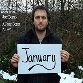Jon Boden - A Folk Song A Day - January