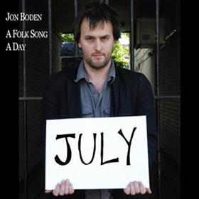 Jon Boden - A Folk Song A Day - July