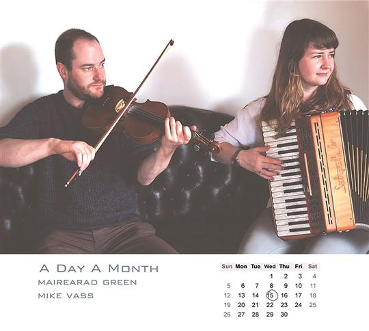 A Day A Month - Mairearad Green & Mike Vass